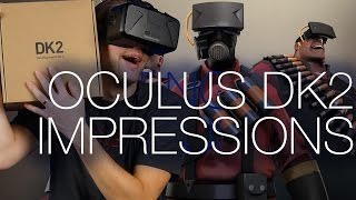 Oculus Rift DK2 Unboxing and Overview