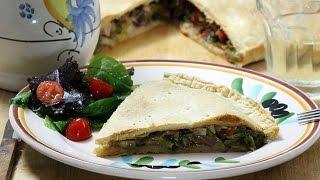 Scalcione - Savory Onion Pie - Rossella's Cooking with Nonna