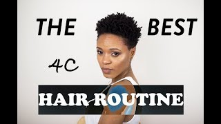 My Wash Day Routine (START TO FINISH) ➟ 4C Natural Hair (2018)