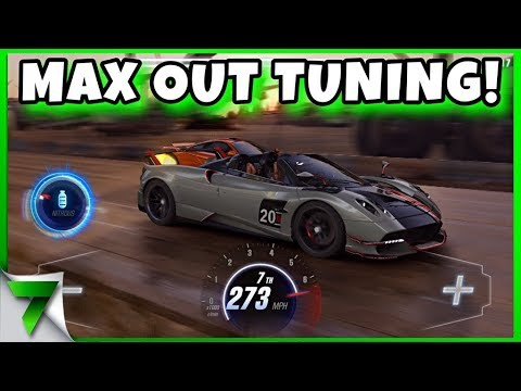 MAX OUT PAGANI Roadster BC LAUNCH EDITION TUNING CHALLENGE! | CSR Racing 2