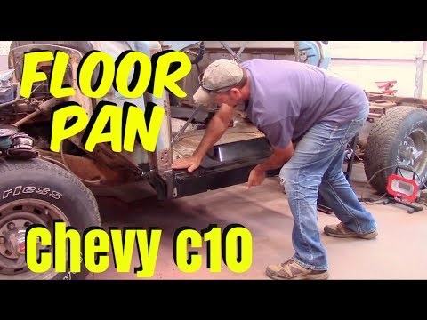 Rust repair floor pan chevy c10