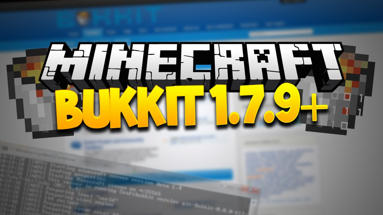 Minecraft] bukkit server 1. 7. 9 + download youtube.