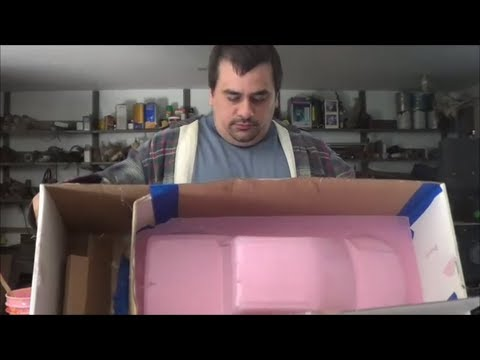 BOX MOLD FOR A  R. C.  BODY
