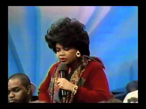 Edward C. Lawson on Oprah Winfrey Show, JANUARY 1987 - RACISM Part 2/3