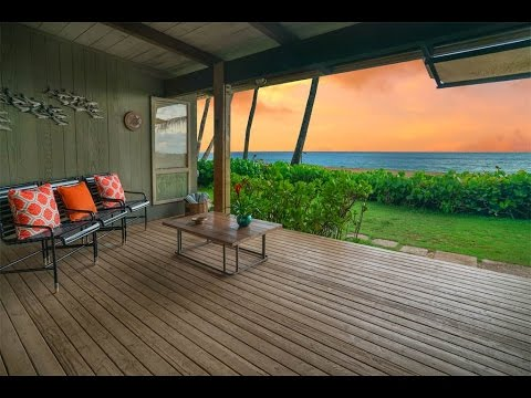 A Surfer's Dream Home with Iconic Views in Haleiwa, Hawaii