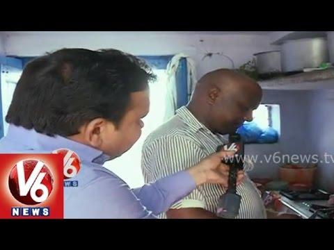 Telangana Special Ankapur Chicken Curry || V6 Ground Report || V6 News