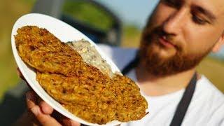 Котлеты из нута, грибов и картошки без масла
