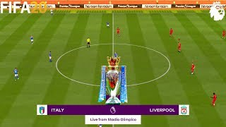 FIFA 20 Italy vs Liverpool Super Premier League Full Match Gameplay