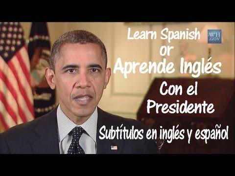 Aprende inglés con el Presidente (Subtítulos en inglés y