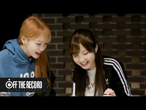 IZ*ONE (아이즈원) 'Airplane' Recording Behind