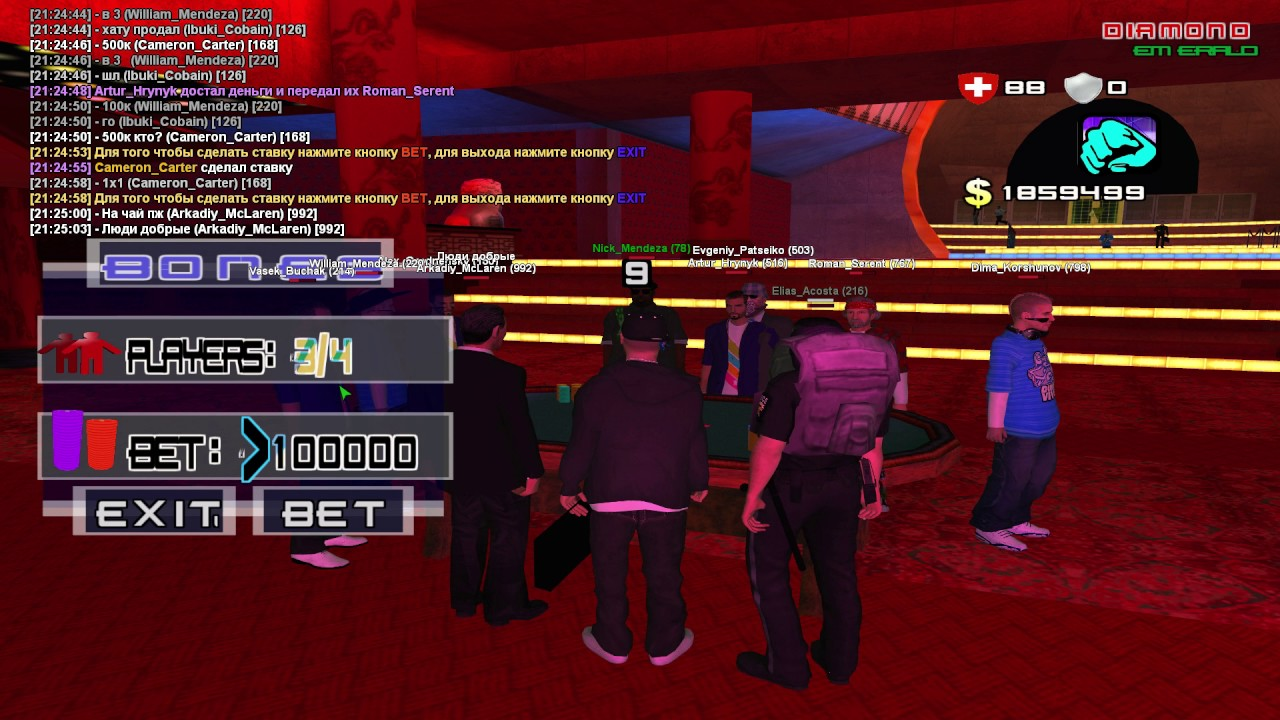 Diamond rp казино казино фараон онлайн бесплатно