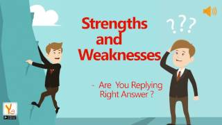 Strenght And Weakness in Interview thumbnail