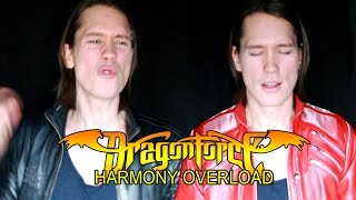 DRAGONFORCE - THROUGH THE FIRE AND THE FLAMES (Cover)