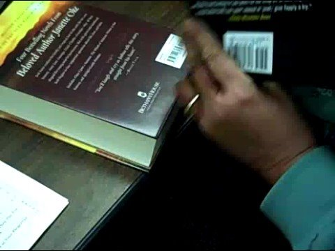Finding ISBNs on a Book