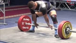 Aman Kapyshev - 695kg 11th Place 83kg - IPF World Classic Powerlifting Championships 2017
