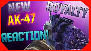 new insane royalty ak 47 opening reaction new cel 3 cauterizer reaction cod aw dlc guns