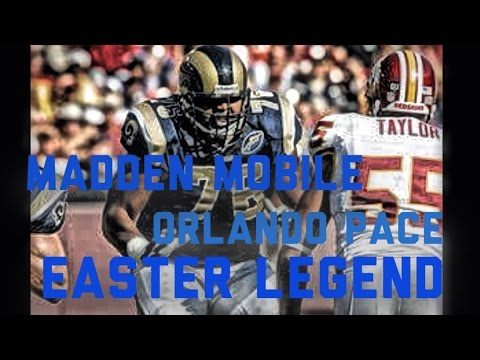 Orlando Pace Easter Legend!
