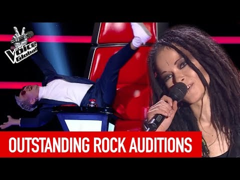 THE VOICE | BEST ROCK AUDITIONS [PART 2]