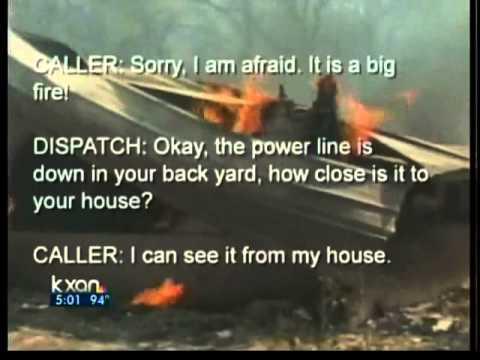 Bastrop Fire 911 Calls Released
