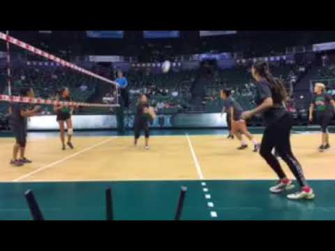 Highlights & Reaction Hawaii Women's Volleyball Alumnae Game 2017