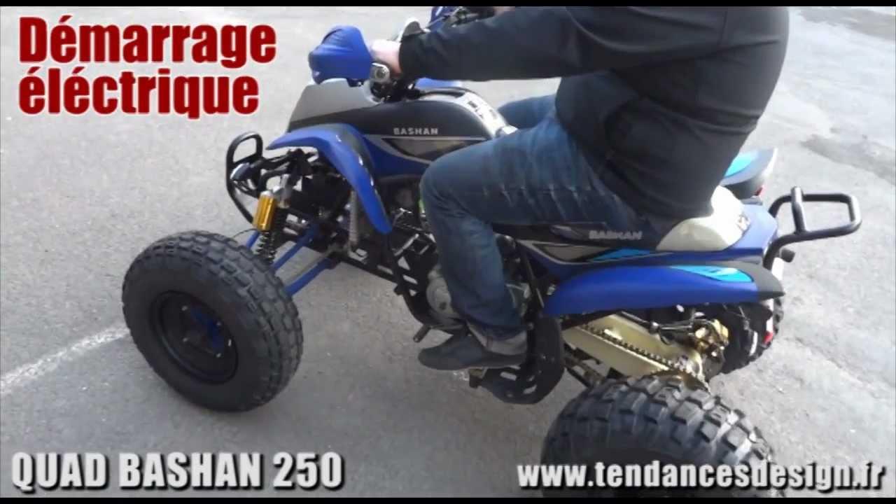 quad bashan 250cc homologue route youtube. Black Bedroom Furniture Sets. Home Design Ideas