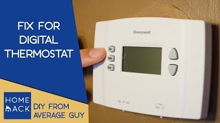 Digital thermostat not working | Heat not working