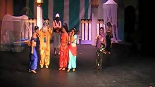 To be Free.. Aladdin the Musical 2011