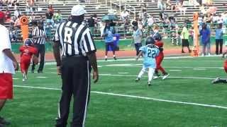 bison blitz open season game tying touchdown vs fbr spinguarn hs dc september 7 2013