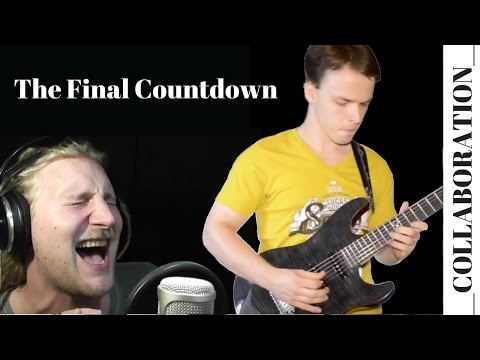 The Final Countdown - Europe  [Guitar Cover]+(Feat Rob Lundgren) HD
