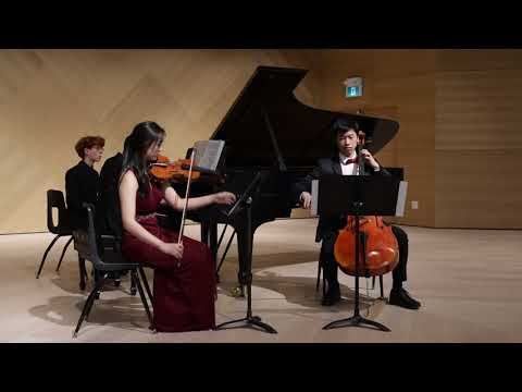 64thAnnual Young Musicians Competition: Beethoven Piano Trio in D major