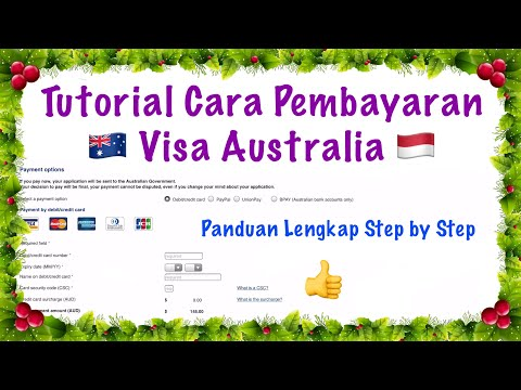 Tutorial Cara Pembayaran Visa Australia Secara Online from YouTube · Duration:  8 minutes 6 seconds