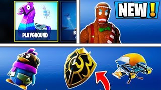 *ALL* Fortnite Season 5 LEAKS! | Playground News, 3 Hidden Items, New Skin!