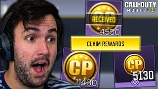 COD Mobile is sending out FREE CP?!