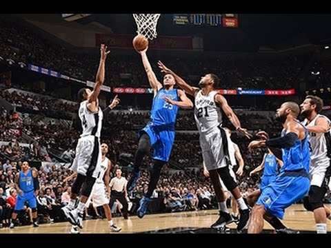 Chandler Parsons Takes it to Tim Duncan