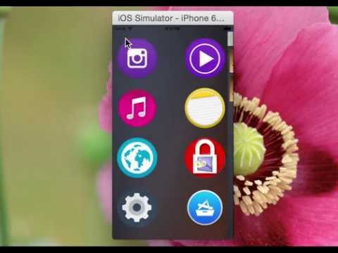 Safety Media Locker with TouchID iOS