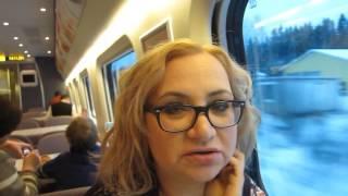 ехать в поезде видео