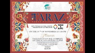 TARAZ fashion show FRF USA