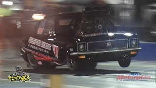 TOP COMP TORANA CRAZY PASS AT THE MOTORPLEX!!