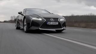 Lexus LC500: Moc i dźwięk - Zwiastun Jazdy Próbne