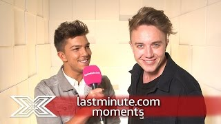 lastminute.com moments: Moments Booth with Matt Terry | The X Factor UK 2016
