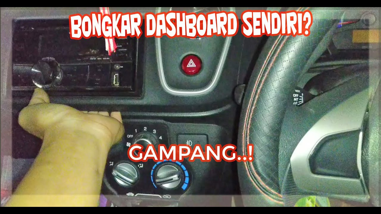 Tutorial Cara Membuka Dashboard Dan Head Unit Honda