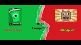 Jacksepticeye & Markiplier Rage Compilation