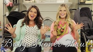 Baby Shower Haul! - A Tale of Two Bumps with HeyKayli and Sharzad Kiadeh