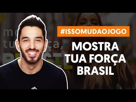 MOSTRA TUA FORÇA, BRASIL - A Música da Seleção #issomudaojogo (aula de violão)