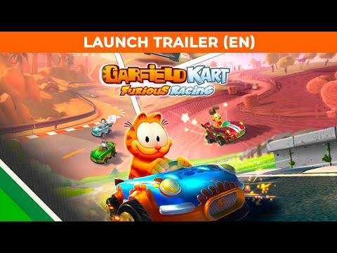 Garfield Kart Furious Racing | Launch Trailer EN | Microids & Artefacts Studio