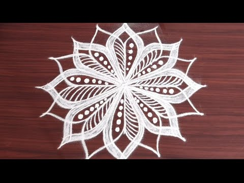 latest pooja muggulu designs for festivals @24/7 Rangoli easy rangoli  designs
