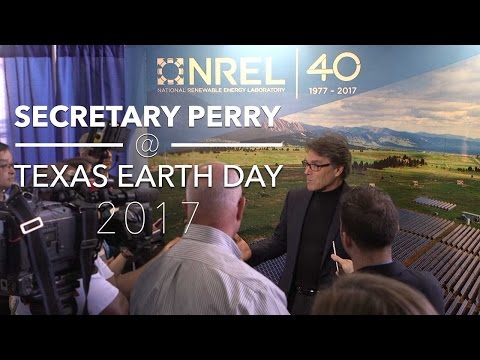 Secretary Perry at Earth Day Texas 2017 (U.S. Department of Energy)