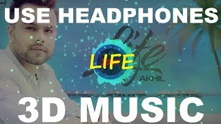 3D Life | 3D Akhil Songs | 3D Music World | 3D Bass Boosted