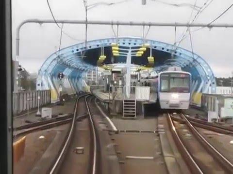Sotetsu Izumino Line Rapid Service Shōnandai~Yokohama  Führerstandsmitfahrt 相鉄いずみ野線快速湘南台~粗鉄横浜前面展望