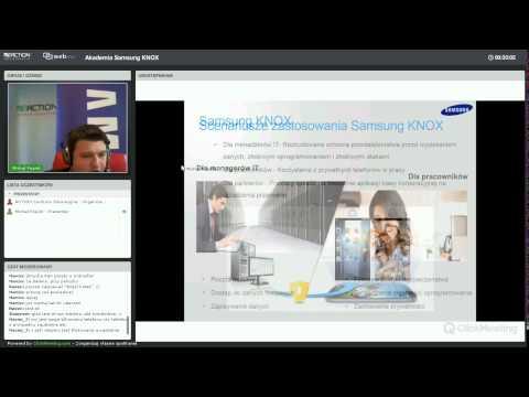 Webinar: Samsung Knox w Biznesie